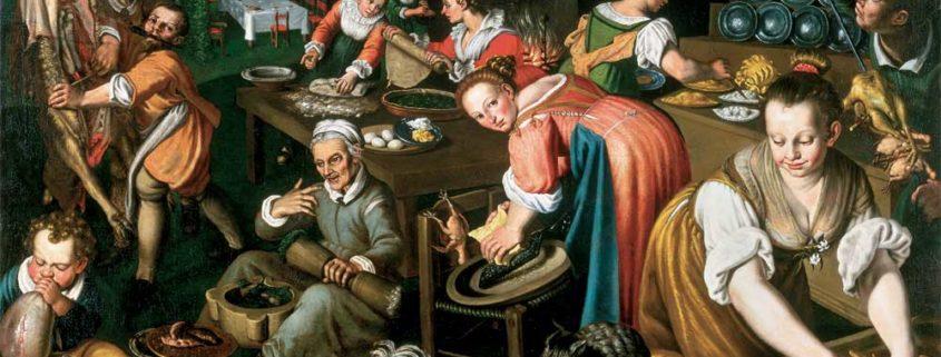 Vincenzo Campi, La cucina, 1580 ca.