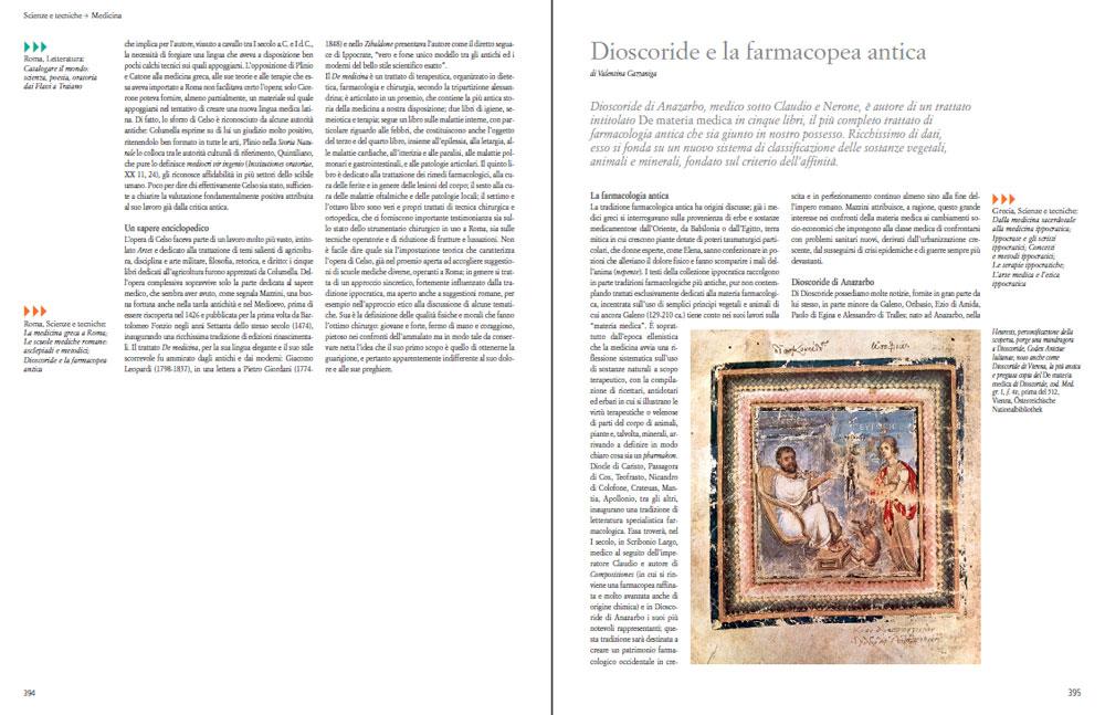 Il saggio Dioscoride e la farmacopea antica di Valentina Gazzaniga sull'Antichità di Federico Motta Editore.