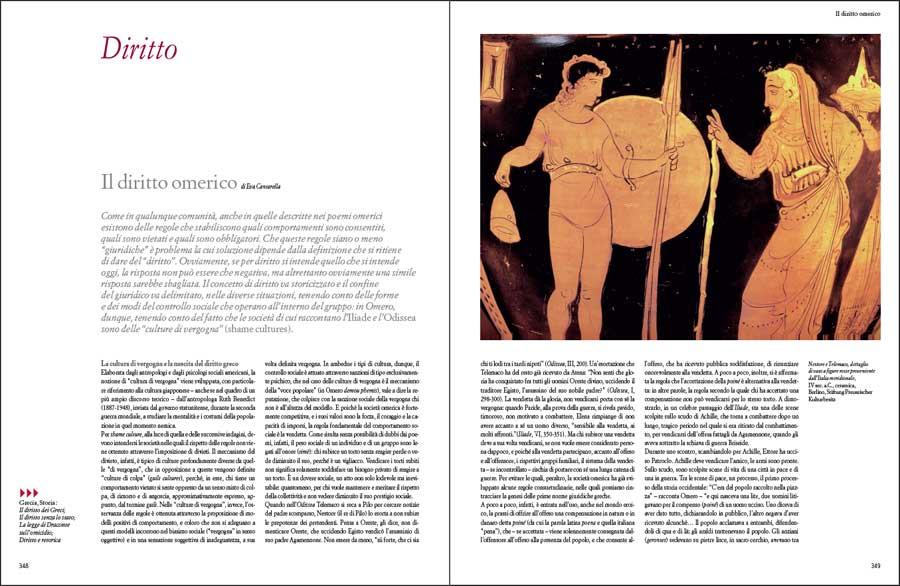 Il diritto omerico di Eva Cantarella, su Historia. L'antichità di Federico Motta Editore