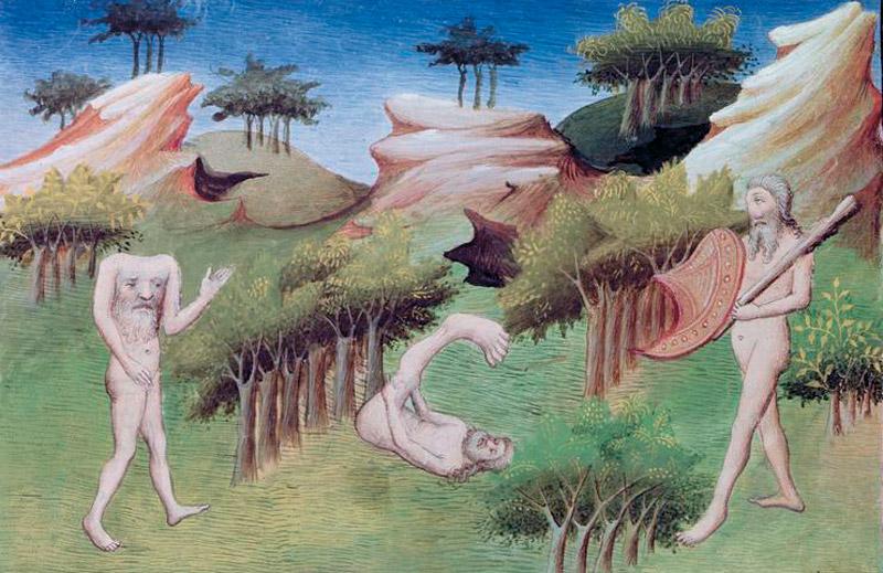 Un'illustrazione dal Milione di Marco Polo