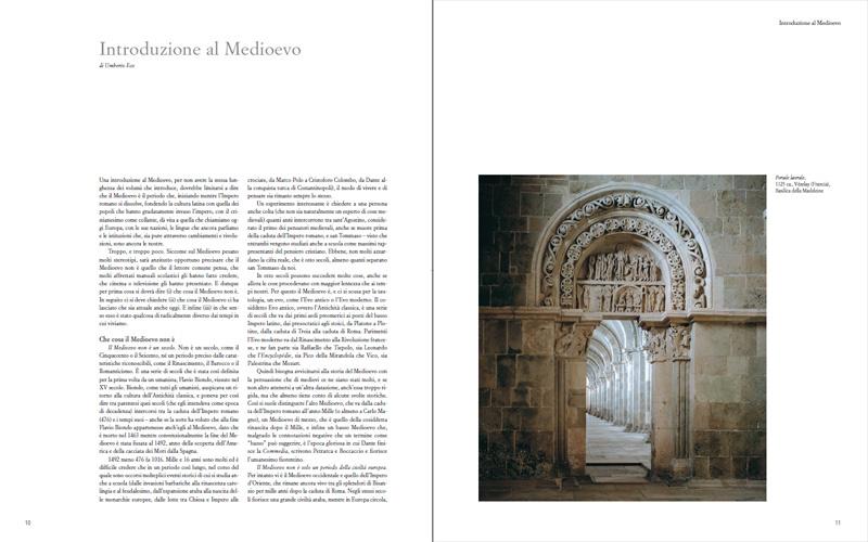 L'introduzione di Umberto Eco a Histororia. Il Medioevo