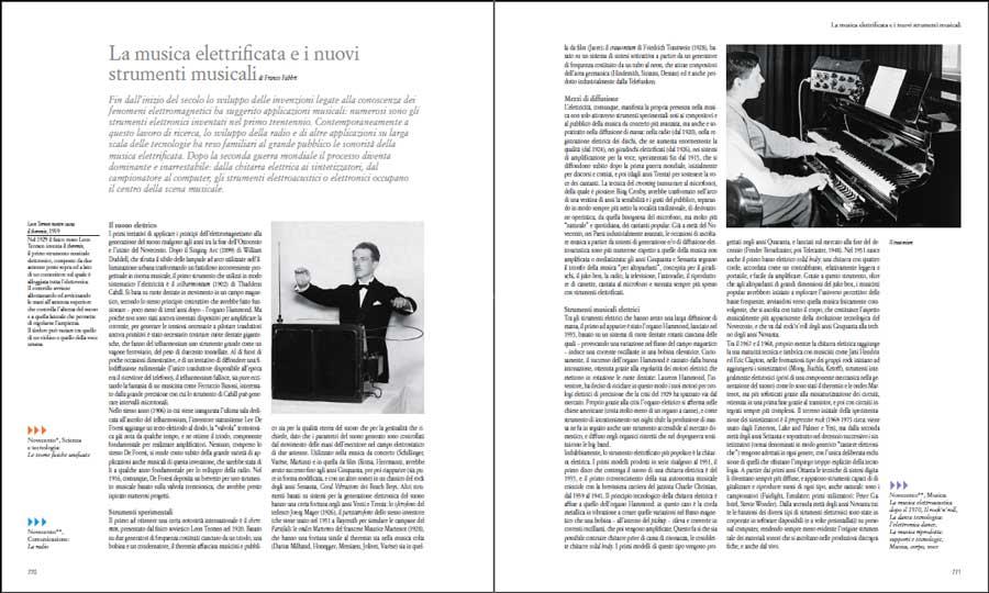 La musica elettrificata e i nuovi strumenti musicali, di Franco Fabbri