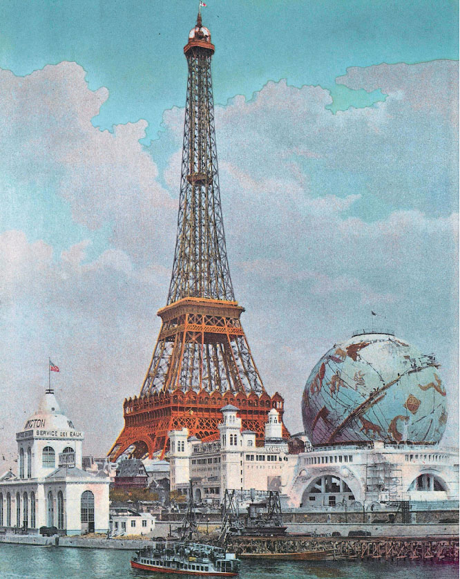 La Torre Eiffel a Parigi, 1900