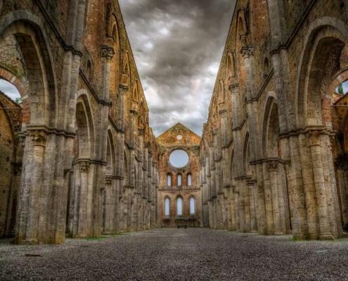 Abbazia di San Galgano, in Toscana