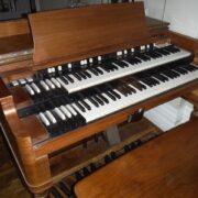 Un organo Hammond